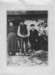 Charles, Emma and Percy Benfield