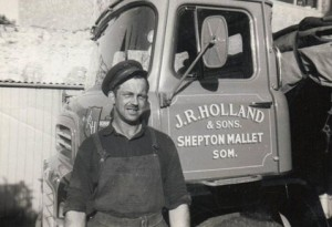 Mrs Wiggett John Ratcliffe Holland and lorry