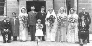 Ray and Betty's wedding 1