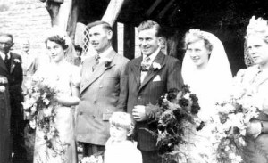 Ray and Betty's wedding 2