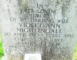 Violet Ann Nightingale Tomb resized
